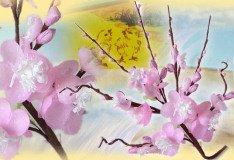fiori di pesco mazzolini fai da te decorazioni pasquali