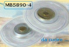 accessori chiusure borse con magnete, disco di plastica da cucire