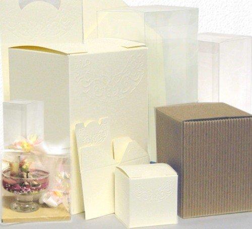 Scatole Trasparenti Bomboniere Matrimonio.Scatole Matrimonio Astucci Scatoline Per Confetti