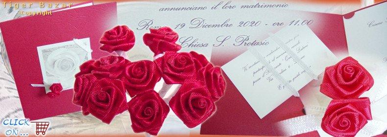 Matrimonio Tema Rose Rosse : Fiori bomboniere confetti fiorellini rose roselline