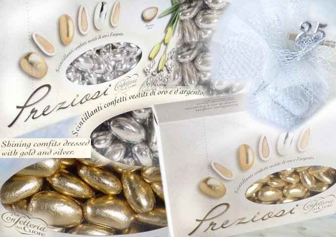 Tigerbazar bomboniere nozze d 39 argento scatoline for Idee 25 anni di matrimonio