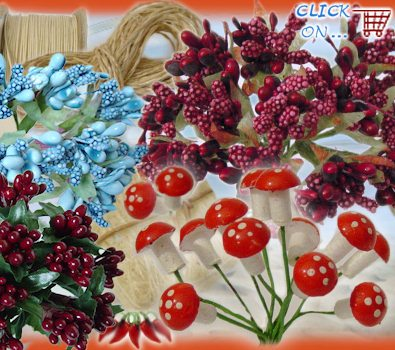 Articoli bomboniere piantine perline confetti bacche - Decorazioni mela ...