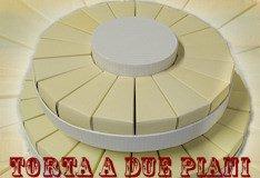 Vendita torte bomboniere confetti scatole fetta di torta for Decorazioni torte vendita
