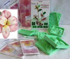 orchidea fommy gomma eva crepla stampati sfumature fiori 8138e969f01