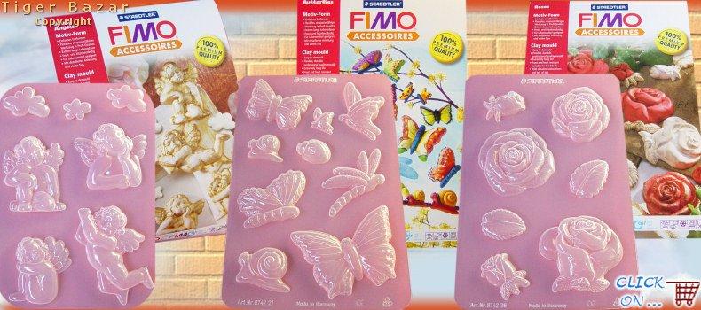 Connu Stampi gesso Cernit e Fimo pasta soft effect Magic Roller per  AC89
