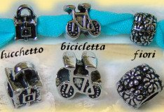charms pandora bicicletta