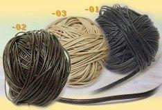 nuovi arrivi qualità acquisto economico Lacci di cuoio stringhe 2 mm, collane braccialetti gomma - tigerbazar