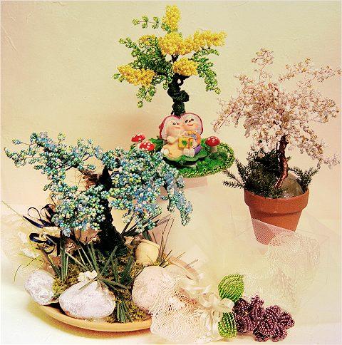 Negozio perline accessori per decorazioni fai da te for Accessori per bonsai