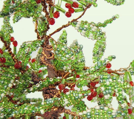 Dettaglio bonsai perline ciliegio idea creare ciliegie for Bonsai ciliegio