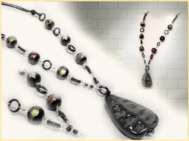 Tigerbazar idee regalo kit perline di vetro accessori for Orecchini con pietre dure fai da te