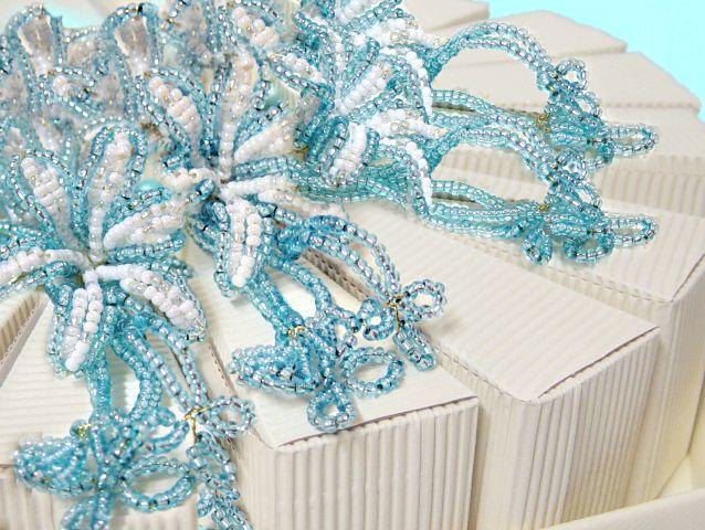 Favoloso Fai da te scatoline fette di torta confetti bomboniere - tigerbazar VB78