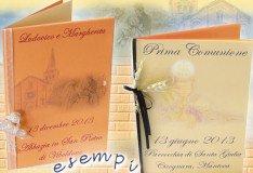 stampa menu per matrimonio