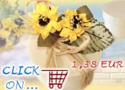 Segnaposto matrimonio fai da te fiori perline realizzare - Porta pranzo tiger ...