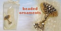beaded ornaments for favour
