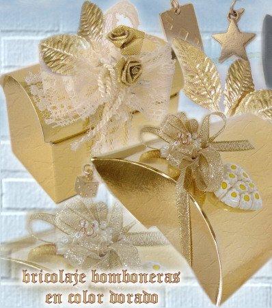 Kit Bomboniere Matrimonio Fai Da Te.Confetti Nozze D Oro Porta Confetti Idee Bomboniere Fai Da Te