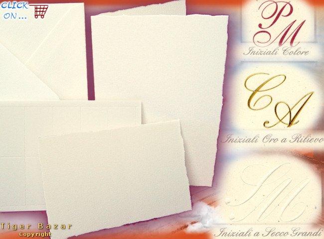 Di matrimonio carta a mano con busta, modelli di sta per lettere