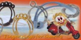 Fermagli capelli schemi anelli perline creare anello porta for Porta anelli fai da te