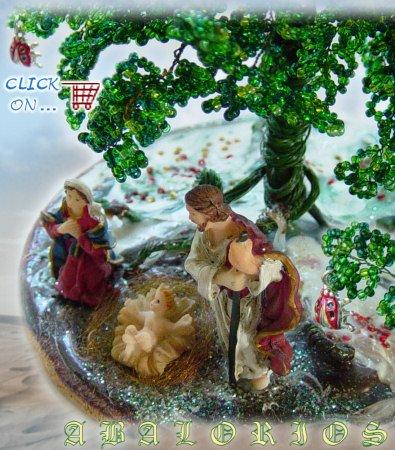 Perline natale accessori fai da te decorazioni creazioni - Creare decorazioni natalizie ...