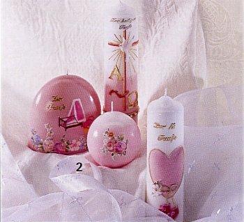 Bimbe battesimo nascita candele fai da te decorazioni simboli cerimonia rosa tigerbazar - Decorazioni battesimo fai da te ...
