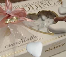 Segnaposto Matrimonio Per Bambini.Confetti Nozze Confetteria Per Bambini Cuori Di Cioccolato