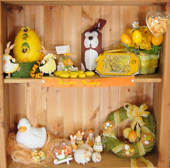 Vetrina pasquale fai da te decorazioni primaverili bomboniere coniglietti uova tigerbazar - Idee per vetrine primaverili ...